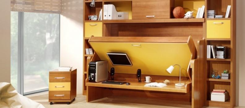 Практични и лесни съвети за малкия апартамент с трансформиращи мебели